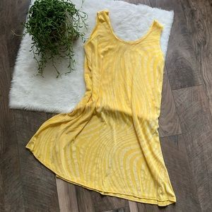 Pretty women vintage 80's flowy sun dress SZL